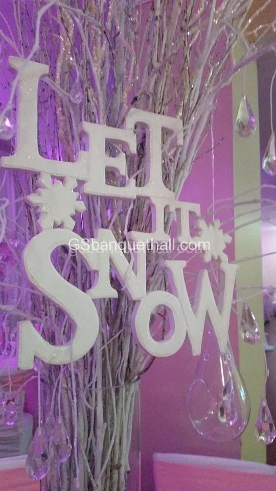 Winter Wonderland Girl Baby Shower