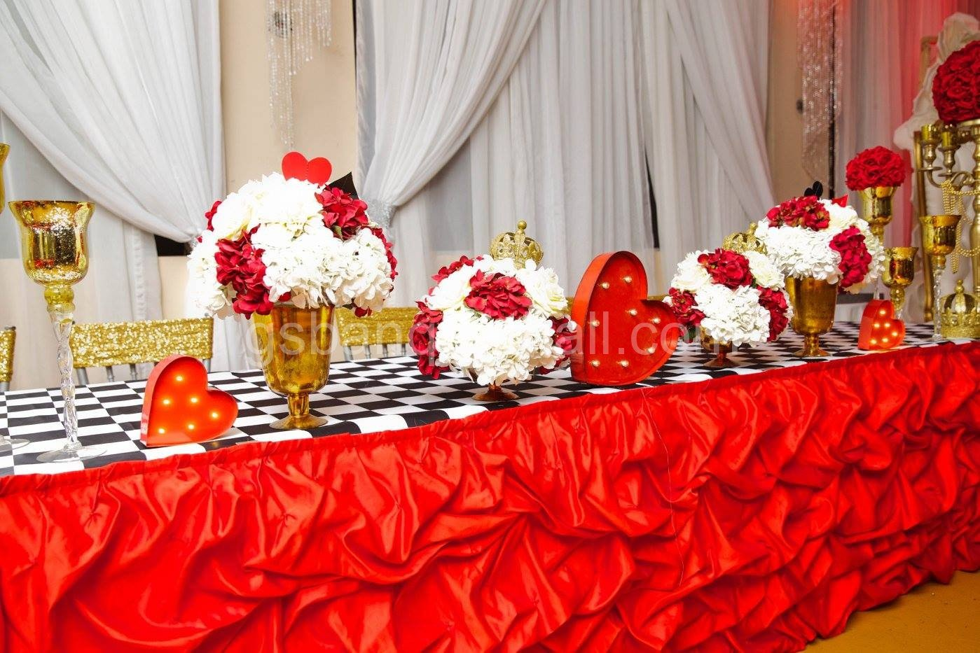Shop For Hanging Birthday Decorations Banners Table Confetti And More Wedding Hall Banquet Party