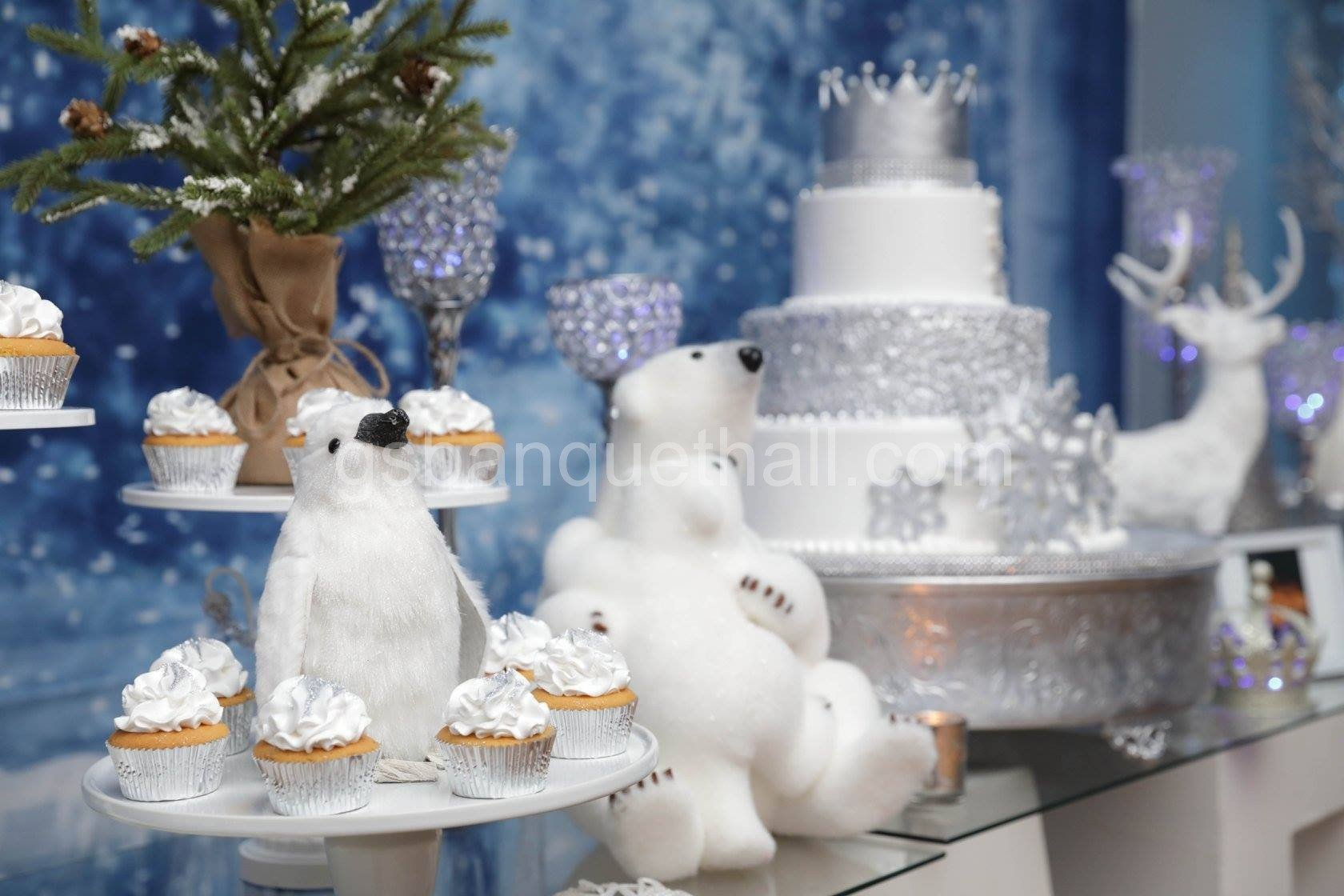Winter Wonderland Baby Showers ~ Winter wonderland baby shower christmas party