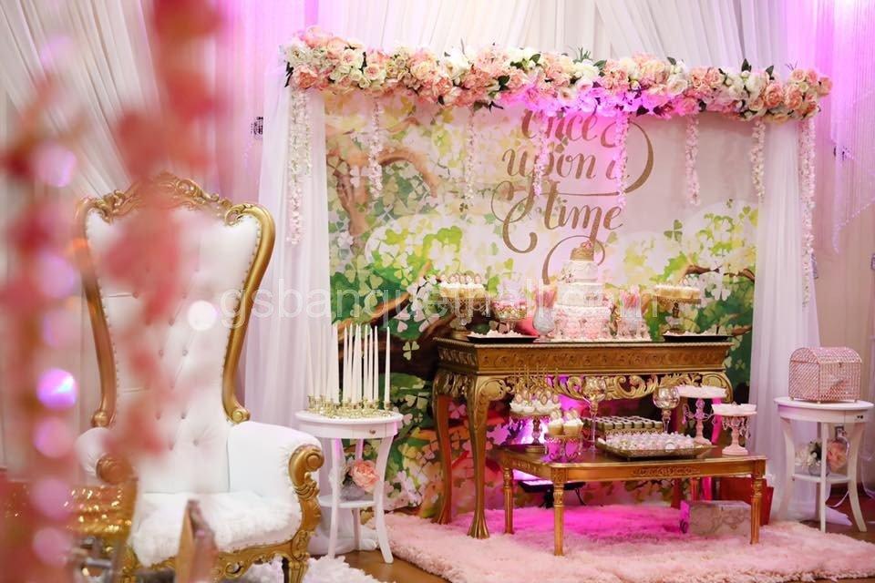Once Upon A Time Birtday Party Decoration Celebracion De